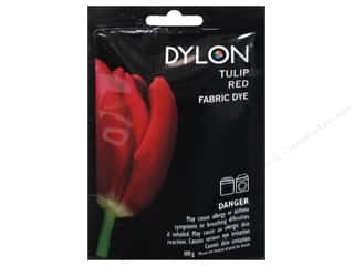 Clearance Dylon Machine Fabric Dye: Dylon Machine Fabric Dye 100gr Tulip Red