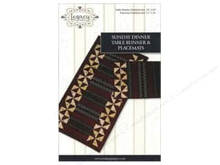 Legacy Sunday Dinner Table Runner & Placemats Pattern