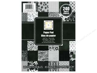 Weekly Specials Scrapbooking Organizers: Die Cuts With A View 8 1/2 x 11 in. Cardstock Stack Modern Chic