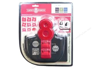 Scrapbooking Sale We R Memory Lucky 8 Punches: We R Memory Punch Lucky 8 Punch Party Streamer