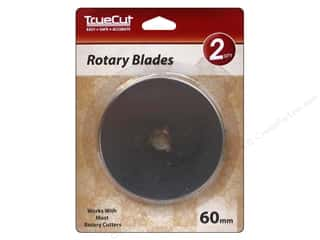 Weekly Specials The Grace Company TrueCut Rotary Cutter: TrueCut Rotary Blade 2 pc. 60 mm