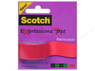 "Scotch Tape Expressions Removable .75""x 300"" Salmon"
