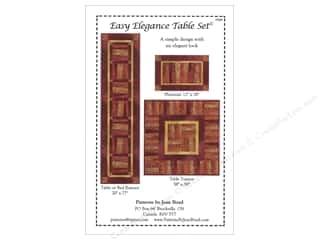 Jean Boyd Easy Elegance Table Set Pattern