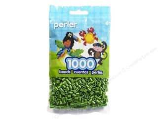 beading & jewelry making supplies: Perler Beads 1000 pc. Cucumber Stripe