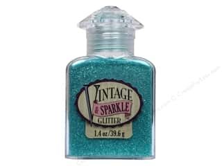 craft & hobbies: Sulyn Glitter Vintage Sparkle 1.4 oz. Iris Aqua Follies