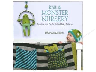 That Patchwork Place Knit A Monster Nursery Book by Rebecca Danger