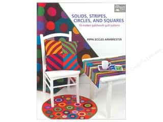 That Patchwork Place Solids, Strips, Circles and Squares Book by Pippa Eccles Armbrester