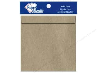 Clearance Paper Accents Envelopes: 12 1/4 x 12 1/4 in. Envelopes by Paper Accents 5 pc. Brown Bag