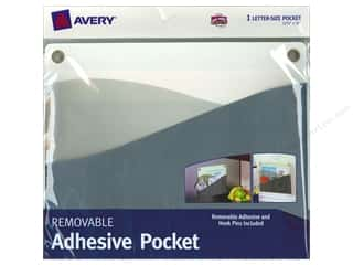 file folder: Avery Removable Wall Pocket 10 x 12 1/4 in. Blue Green