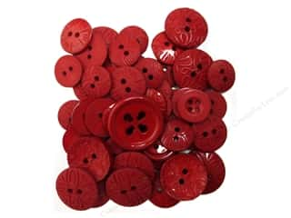 novelties: Jesse James Dress It Up Embellishments Color Me Red