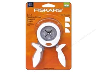 scrapbooking & paper crafts: Fiskars 3-in-1 Corner Squeeze Punch Well Rounded