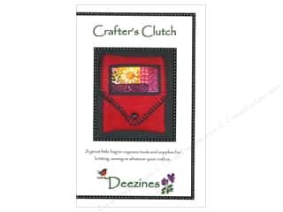 beading & jewelry making supplies: Deezines Patterns Crafter's Clutch Pattern