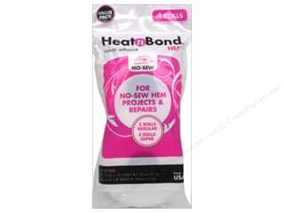 "heat n bond iron-on adhesive: Heat n Bond Iron-on Hem Adhesive Value Pack 3/8"" & 3/4"""