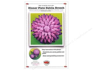 books & patterns: La Todera Dinner Plate Dahlia Brooch Pattern