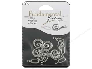 Sweet Beads Fundamental Finding Hook Clasp 26 mm Silver 6pc
