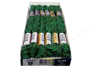 DMC Pearl Cotton Variations Size 5 #4047 Emerald Isle (6 skeins)