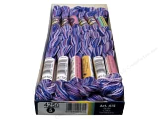 mettler mercerized cotton thread: DMC Pearl Cotton Variations Size 5 #4250 Berry Parfait (6 skeins)
