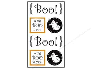 Weekly Specials Petaloo Expressions Collection: SRM Press Sticker Quick Cards Boo