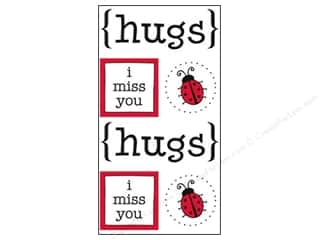 scrapbooking & paper crafts: SRM Press Sticker Quick Cards Hugs