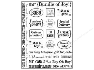 sentiment stickers: SRM Press Sticker Sentiments Baby