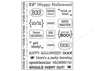 Weekly Specials Petaloo Expressions Collection: SRM Press Sticker Sentiments Halloween