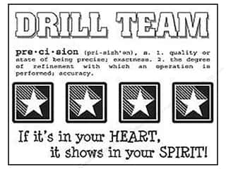SRM Press Sticker Say It With Stickers Drill Team