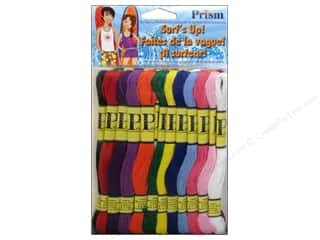 yarn: Six Strand Embroidery Floss Pack Surf's Up 36pc by Prism