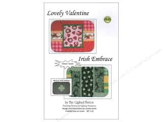 Quilted Button Lovely Valentine/Irish Embrace Pattern