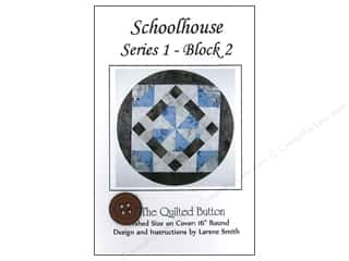 Quilted Button Schoolhouse Series 1 Block 2 Pattern