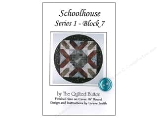 Quilted Button Schoolhouse Series 1 Block 7 Pattern