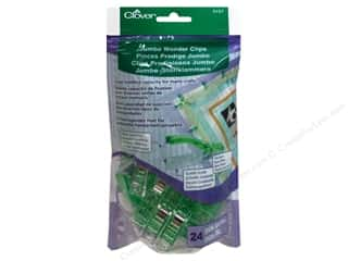 sewing & quilting: Clover Jumbo Wonder Clips 24 pc. Green