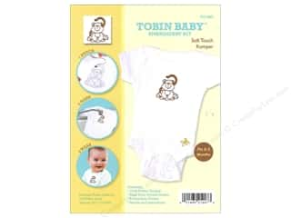Weekly Specials Pattern: Tobin Kit Embroidery Romper Onesie 0-3mo Monkey