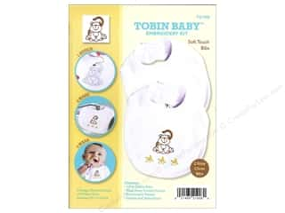 Weekly Specials Pattern: Tobin Kit Embroidery Bib Set Monkey 2pc