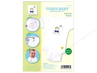 Weekly Specials Pattern: Tobin Kit Embroidery Romper Onesie Frog