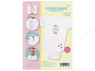 Weekly Specials Pattern: Tobin Kit Embroidery Romper Onesie 0-3mo Bear
