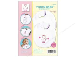 Weekly Specials Pattern: Tobin Kit Embroidery Bib Set Bear 2pc