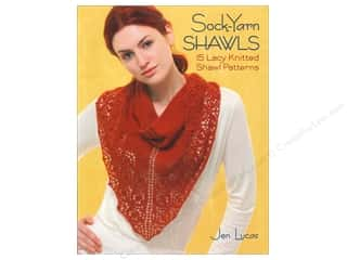 yarn  books: That Patchwork Place Sock Yarn Shawls Book by Jen Lucas
