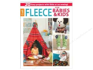 Clearance Books: Leisure Arts Fleece For Babies & Kids Book