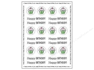 scrapbooking & paper crafts: SRM Press Sticker By The Dozen Birthday