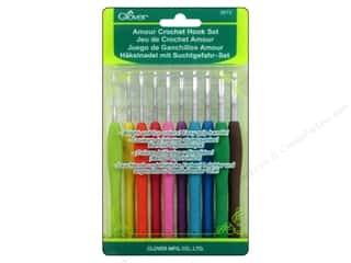 gifts & giftwrap: Clover Amour Crochet Hook Set 10 pc.