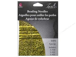 beading & jewelry making supplies: Cousin Beading Needle Assortment 9 pc.