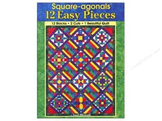 Books Clearance: Landauer Square-agonals 12 Easy Pieces Book