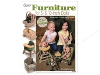 yarn & needlework: Annie's Furniture For 5 & 10 Inch Dolls Book by Wanda Kenney