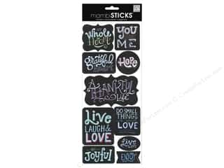 Me&My Big Ideas Sticker Sticks Sayings Chalk General