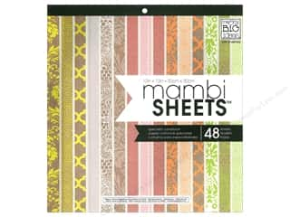 Holiday Sale Designer Papers & Cardstock: Me & My Big Ideas Sheets Cardstock Pad 12 x 12 in. Neon Craft
