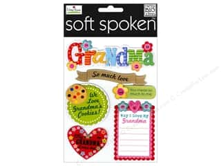 stickers: Me & My Big Ideas Soft Spoken Stickers Grandma