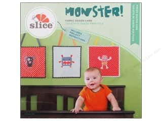 die cutting machines: Slice Fabric Design Card Monster!