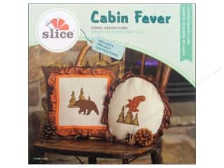 dies: Slice Fabric Design Card Cabin Fever