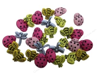 craft & hobbies: Jesse James Dress It Up Embellishments Tiny Bugs