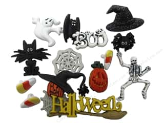 Jesse James Dress It Up Embellishments Memory Mate Halloween